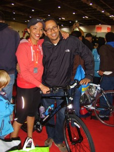 Sheweet, Triathlon With Fan Habtom